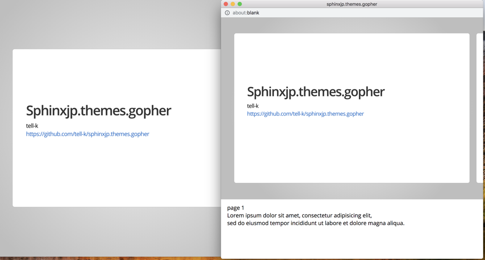 https://raw.githubusercontent.com/tell-k/sphinxjp.themes.gopher/master/docs/_static/img/presenter-notes.png