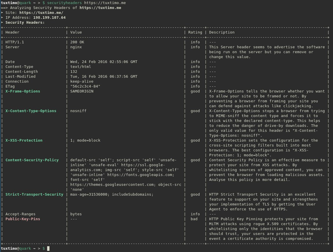 Screenshot CLI
