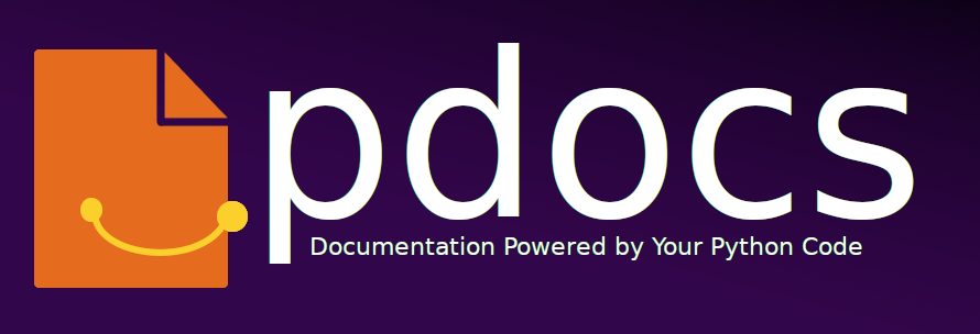 pdocs - Documentation Powered by Your Python Code.