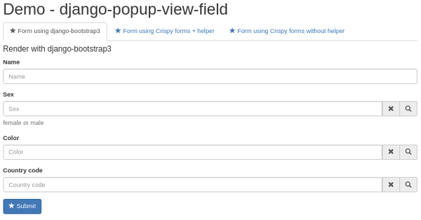 Form with django-popup-view-fieds