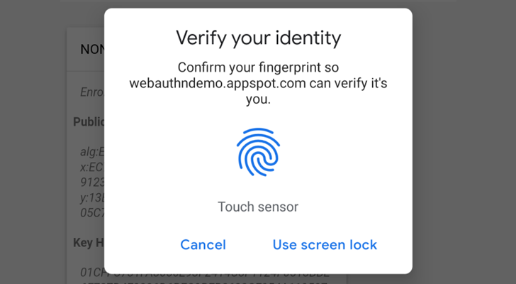 Andriod Fingerprint