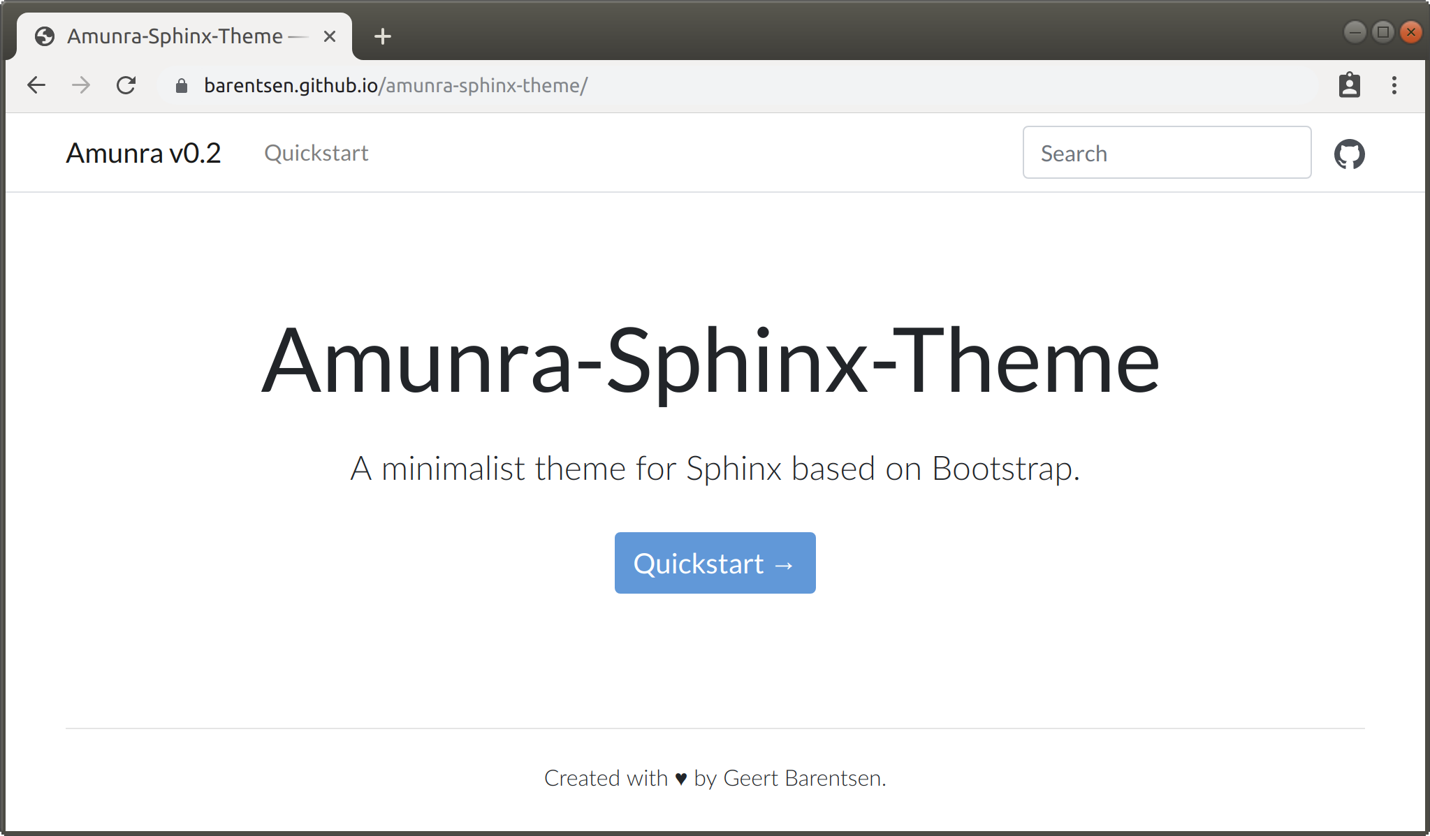 Amunra-Sphinx-Theme preview