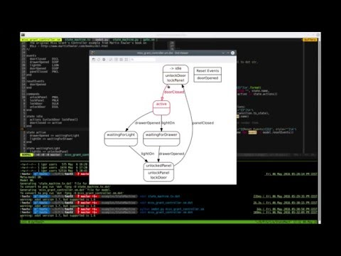 Implementing State Machine DSL